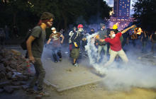 Protests turn Turkey's streets into battlefields