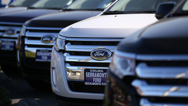 U s auto sales see big gains in may cbs news for Ford motor company pension contact number