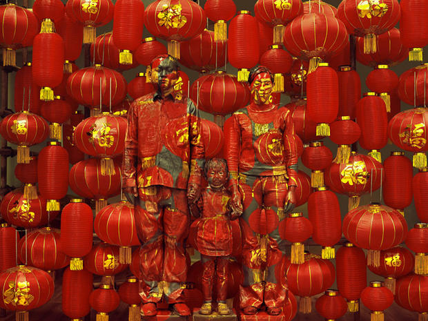 Chinese artist hides in plain sight