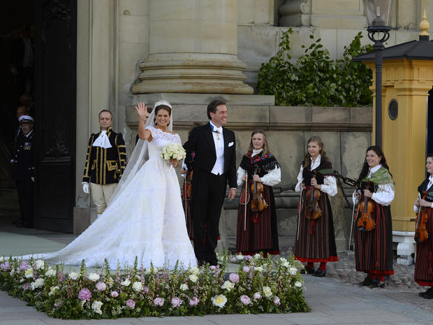 Princess Madeleine of Sweden's royal wedding