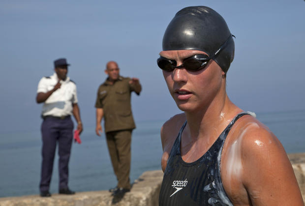 Cuba to Fla. swim cut short