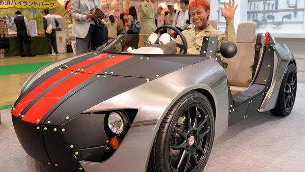 Toyota Rolls Out Car For Kids At Tokyo Toy Show Cbs News