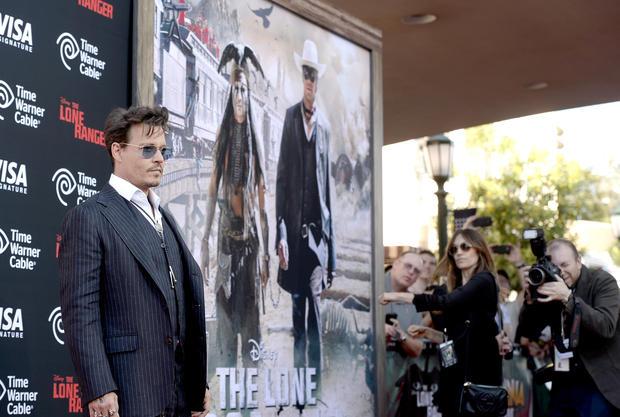 """The Lone Ranger"" premiere"