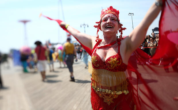 NYC's Mermaid Parade 2013