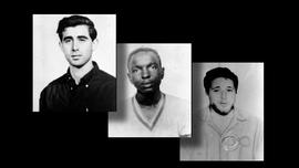 The three civil rights workers murdered by the KKK in Mississippi in 1964.
