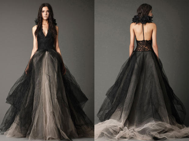 Vera Wang bridals, in black & white - Photo 1 - Pictures - CBS News