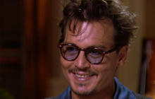 Johnny Depp opens up to Charlie Rose in an in-depth interview