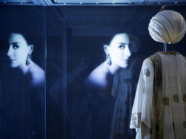 Royal gowns on display at Kensington Palace