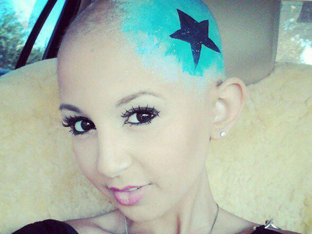 Talia Castellano poses in one of many fashion shoots posted on her Facebook page. Millions have seen her inspiring YouTube makeup tutorials. Castellano died of cancer at age 13 on July 16, 2013.