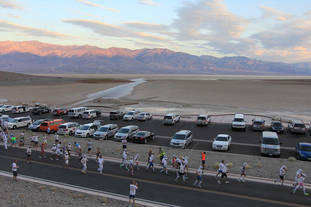 Death Valley ultra-marathon