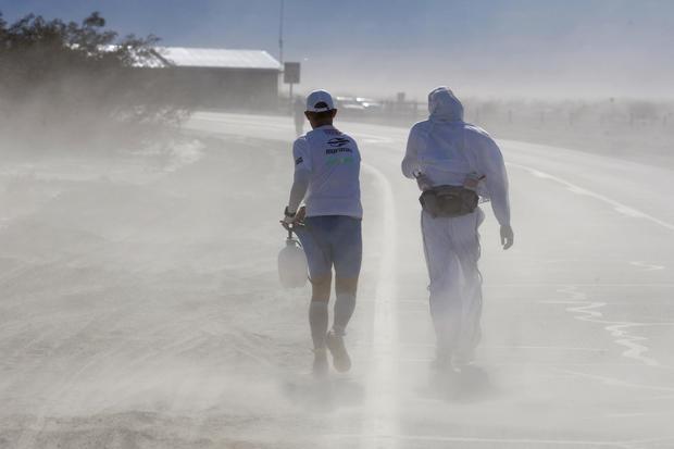 Death Valley ultra-marathon