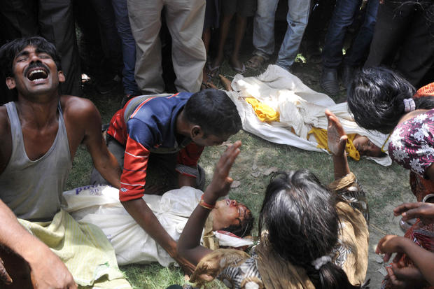 Grief and anger in India