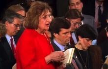 Helen Thomas: Presidential interrogator