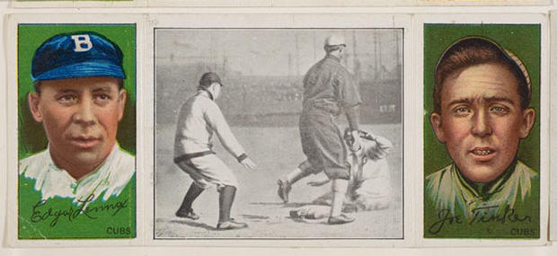 Vintage baseball cards