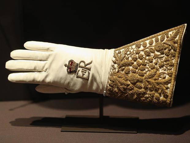 Queen Elizabeth II's coronation regalia on display