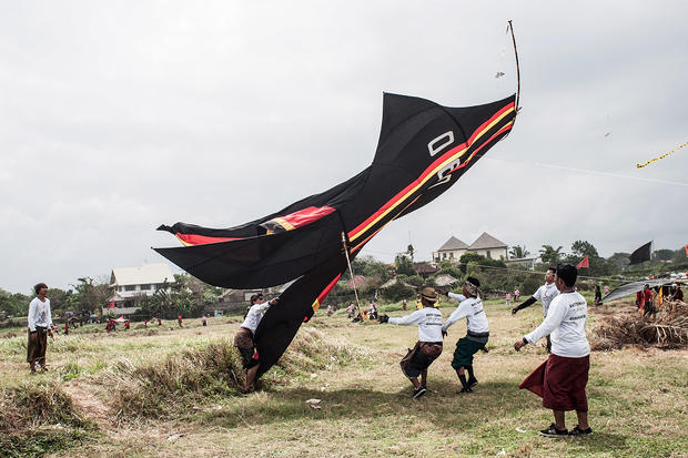 Sharknado? No, it's just a kite