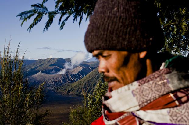 Volcano gods honored in Java