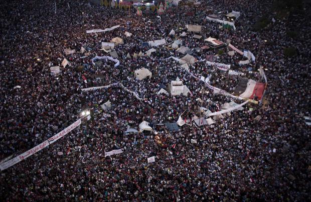 Egypt protests take deadly turn