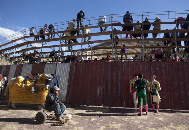 Bullfighters looking for work