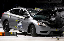 Crash test: Only half of small cars studied rated acceptable