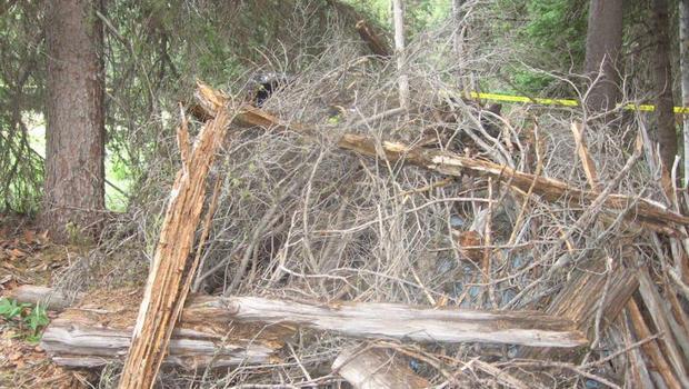 来自爱达荷州露营者的一条小贴士帮助警方找到了被绑架者James Lee DiMaggio的车,隐藏在树枝下。