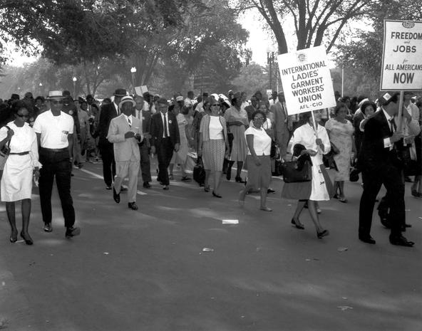 Rare photos of the March on Washington