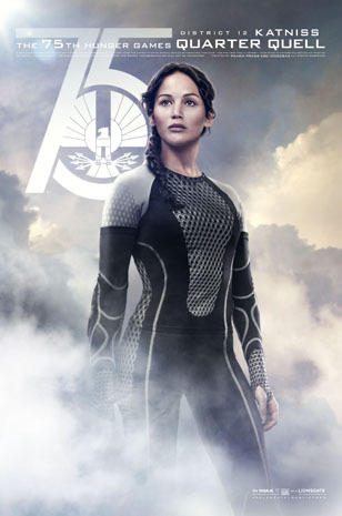 """The Hunger Games: Catching Fire"" cast portraits"