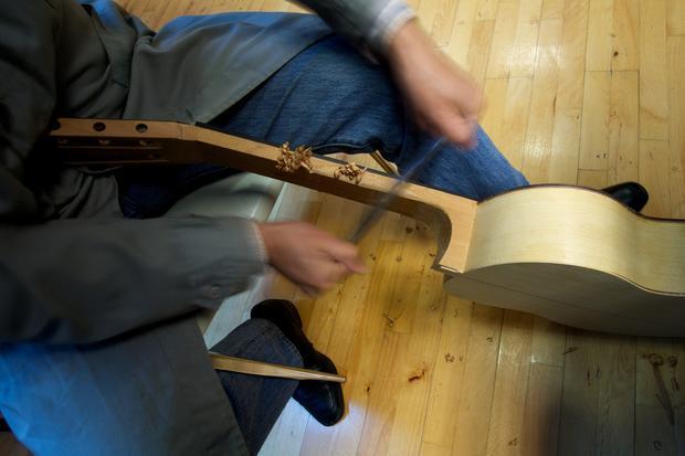 Building a perfect guitar