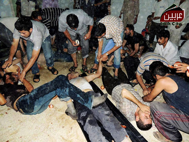 Chemical weapons attack in Syria