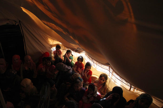 Life in a Syrian refugee camp