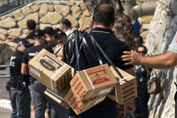 Israelis rush to buy gas masks