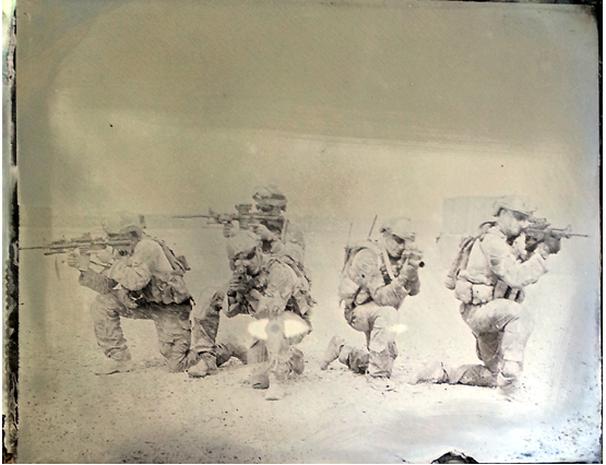 Afghanistan photos get Civil War-era treatment