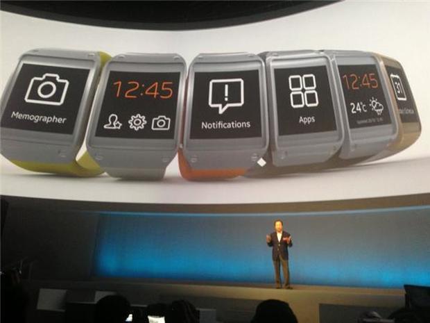 Samsung unveils Galaxy Note 3, Galaxy Gear smartwatch