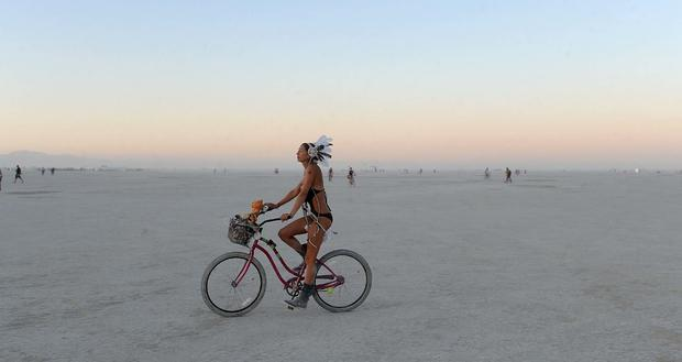 The surreal landscape of Burning Man 2013