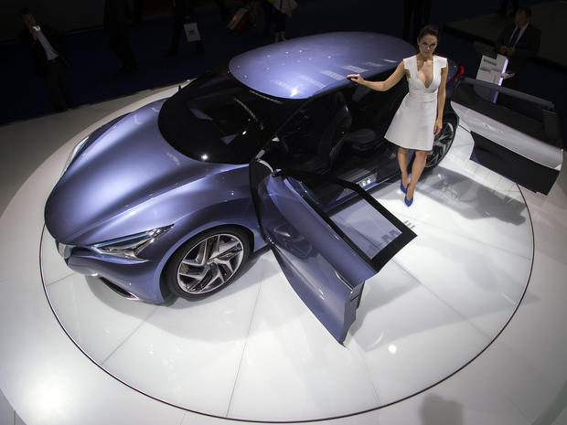 Hot wheels at the Frankfurt Auto Show