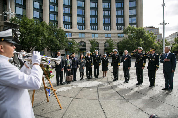 Ceremony honors Navy Yard victims