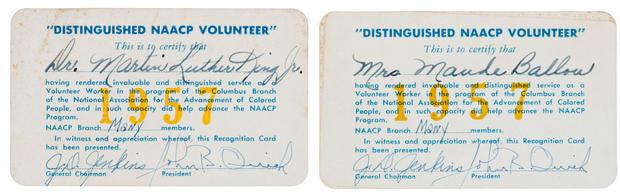 MLK Jr.'s secretary to auction artifacts