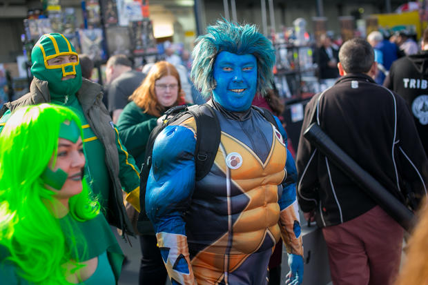 Comics fans flood London