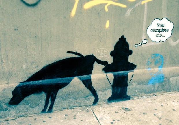Banksy hits the Big Apple