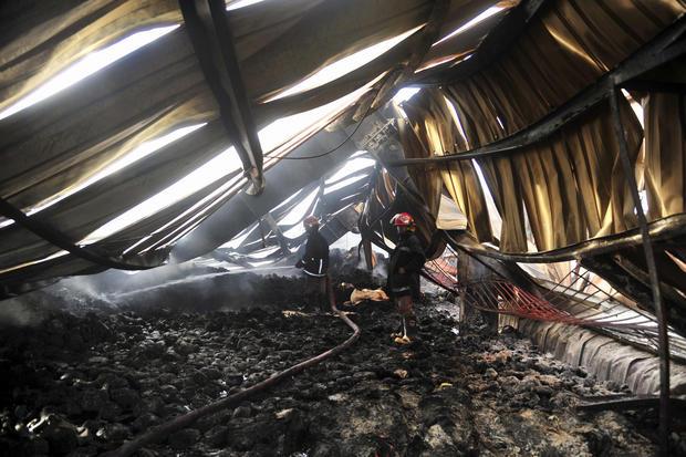 Deadly blaze in Bangladesh factory