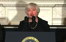 "Yellen: Despite progress, ""We have farther to go"""