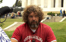 S.C. native cleaning National Mall during gov't shutdown