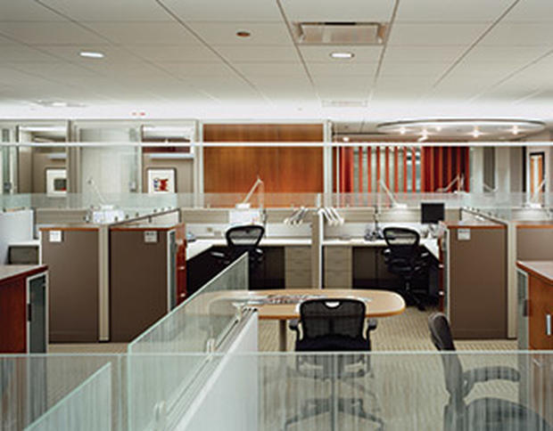 Office designs for optimizing collaboration cbs news for Office design photos