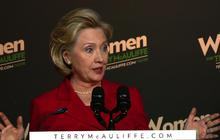 Endorsing McAuliffe, Hillary Clinton knocks D.C. dysfunction