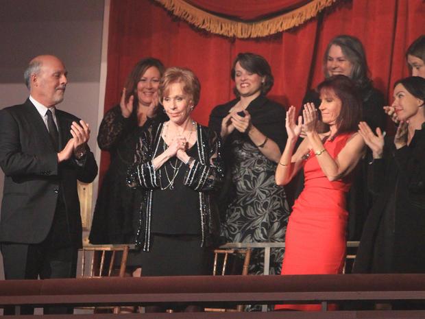 Carol Burnett receives Mark Twain Prize