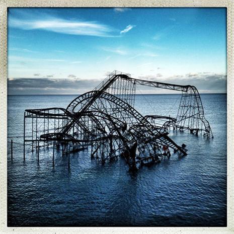"Hurricane Sandy remembered in ""Rising Waters"" exhibit"