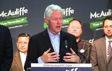 Bill Clinton boosts Terry McAuliffe for Va. Gov.