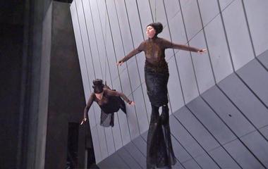 Opera singers also acrobats?