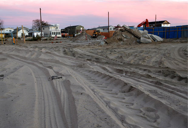 Sandy: Before and after