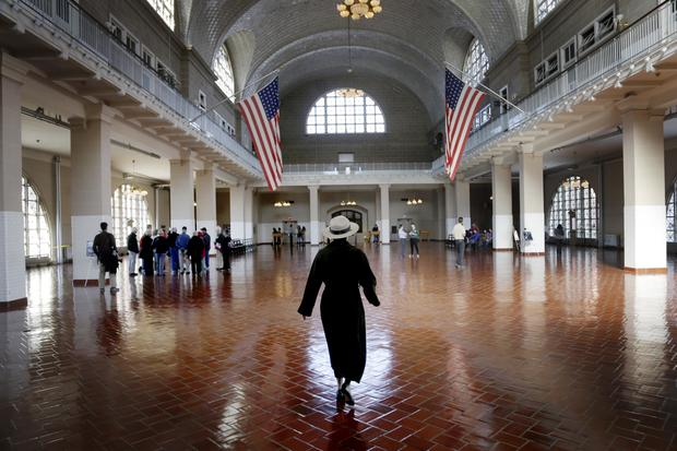 Ellis Island reopens post-Sandy